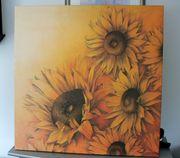 Gemälde Bild Sonnenblumen von Alicia