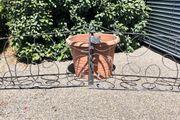 Schmiedeeisernes Gartentor