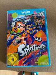 Wii U Spiel Splatoon
