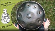Kostenlose Handpan-Lernvideos - Corona-Stay-Home Play Handpan