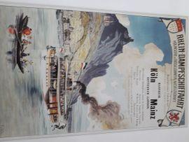 Gemälde Bild Poster Dampfer Schiffe: Kleinanzeigen aus Offenbach - Rubrik Kunst, Gemälde, Plastik