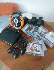 PS3 mit 3 Controller viele
