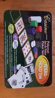 Pokerset in Metallbox mit 200