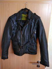 Motorrad Lederjacke für Frauen Gr