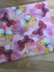 Tischläufer 2 Kissenbezüge Schmetterling