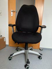 Bürostuhl höhenverstellbar zu verschenken