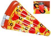 NEU Luftmatratze als Pizza Stück