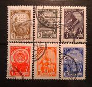 Sowjetunion 1961 Freimarken Sozialismus 2434 -