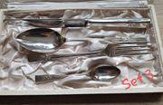 Vintage - Silberbesteckteile England 40iger oder