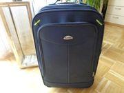 Trolley Koffer Textilkoffer blau 2