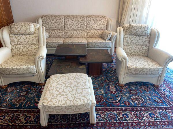 Couch Sofa Sessel Garnitur - Neuwertig -
