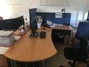 WINI Bürosysteme 2 Stück Bürotische