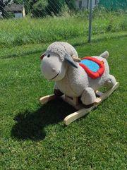 Schaukelpferd Schaf