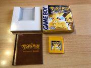 Nintendo Gameboy Pokemon Gelbe Edition