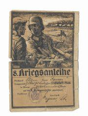 8 Kriegsanleihe 1914-1918