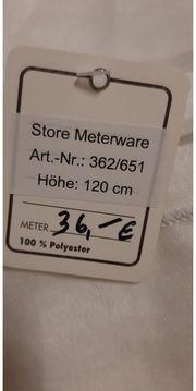 Store Meterware Gardinen mit Faltenband