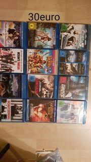 verschiedene dvds und BlueRay