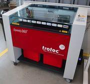 Trotec Laser Speedy 360 Co2