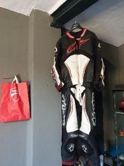 Motorrad Lederkombi alpinestar Gr 54