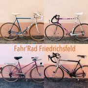 Überarbeitete Rennräder Rennrad Reiserad Retro