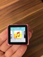 iPod nano 6 in pink