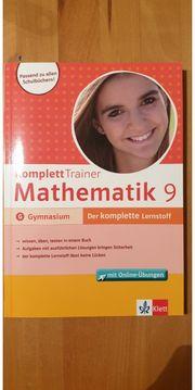 Mathematik 9 Komplett Trainer Gymnasium