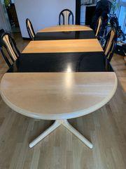 Esstisch in Massivholz 5 Stühle