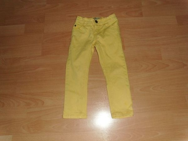 Jeans von Summerday gelb Gr