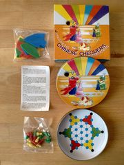 Magnetic Chinese Chequers Halma-Reisespiel Kunststoff-Puzzle
