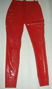 Heiße rote Latex Gummi Hose