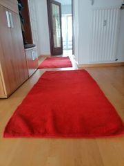 Teppich Kurzflor rot von IKEA