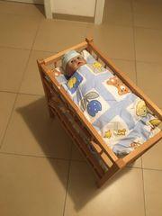 Puppenbett mit Annabell