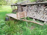 Traktoranhänger für Holztransport