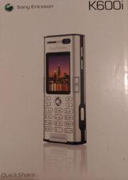 K600i Sony Ericson Handy