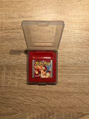 Pokemon Rote Edition mit Hülle