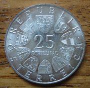 Schilling Silbermünzen