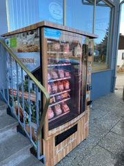 Gekühlter Metzgerautomat - Grillfleischautomat - Wurstautomat - Fleischautomat -