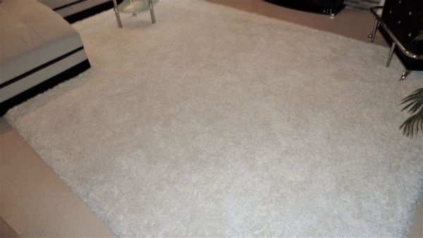 Hochflor-Teppich Shaggy natur 3 4m