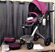 Stokke Xplory V4 lila Kinderwagen