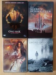 4 DVD s Actionfilme Eastern