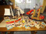 2 Playmobil Piratenschiffe 1 Großes