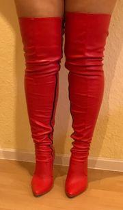 High Heels Overknee Stiefel Stilettos