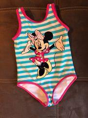Mädchen Badeanzug Mickey Maus Gr