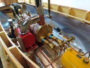Dampfboot mit Stuart Tuner Double