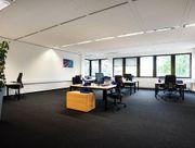 Klimatisierte Büros mit moderner Teeküche