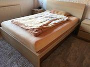 Malm Bett 140cmx200cm mit zwei