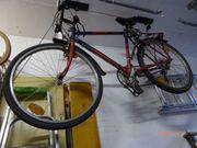 Auffälliges Fahrrad für U-Bahn verkehrssicher