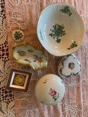 Porzellan Set von verschiedenen Herstellern