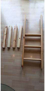 Flexa Hochbett Umbausatz halbhohes Bett