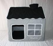 Hundehütte Hundehaus House Design grau